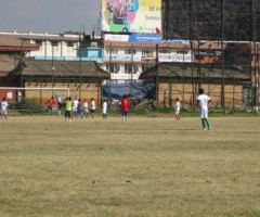 Friendly Football Match